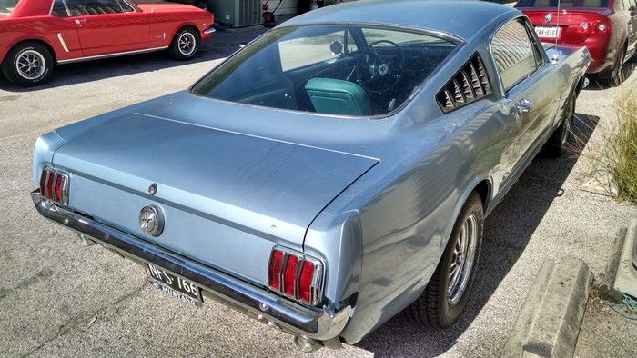 1966 Mustang Fastback passenger side rear