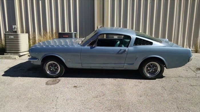 1966 Mustang Fastback driver side