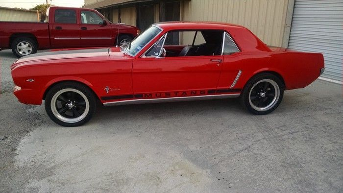 1966 Ford Mustang driver full side view