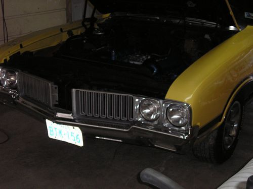 1970 oldsmobile 442 convertible, front of car