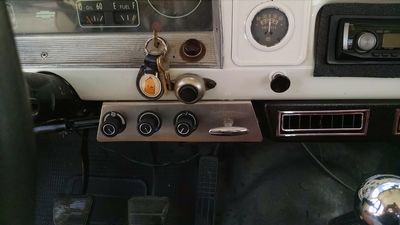 VINTAGE AIR™ kit installed in a 1966 Chevy Truck