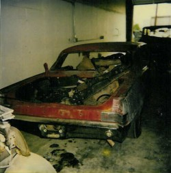 1965 pontiac gto body before restoration