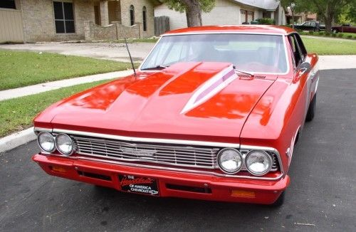 1966 Chevelle front view