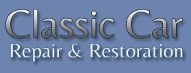 classic car repair and restoration text image