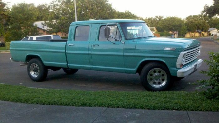 1967 Ford F350 truck completed