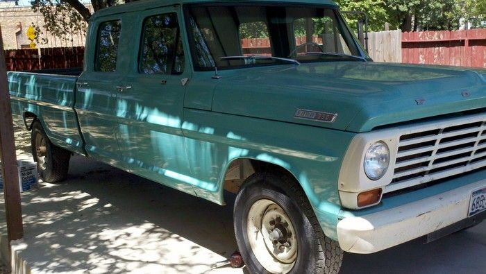 1967 Ford F350 original condition passenger view