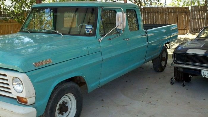 1967 Ford F350 original condition driver side view