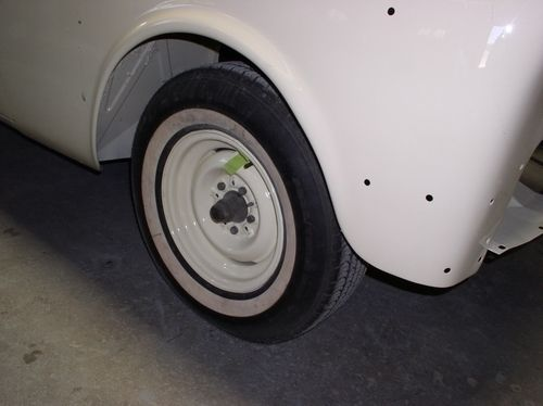 front wheel, 1954 Packard Patrician