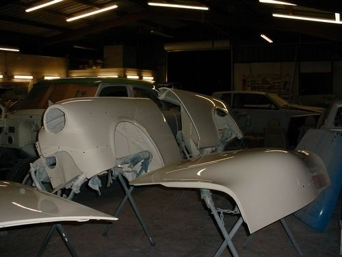 front fenders, new paint off car, 1954 Packard Patrician