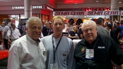 SEMA Show Don (The Snake) Prudhomme and Tom (The Mongoose) McEwen