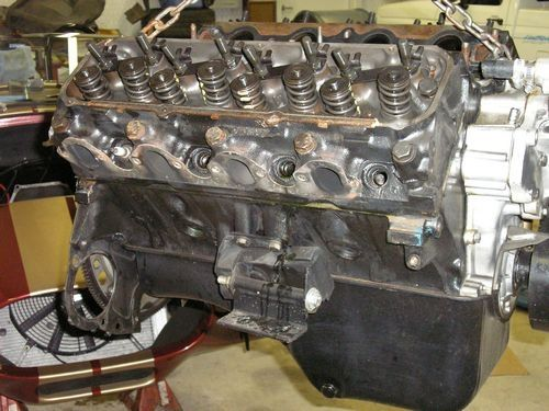 engine block with covers removed, 1966 shelby cobra