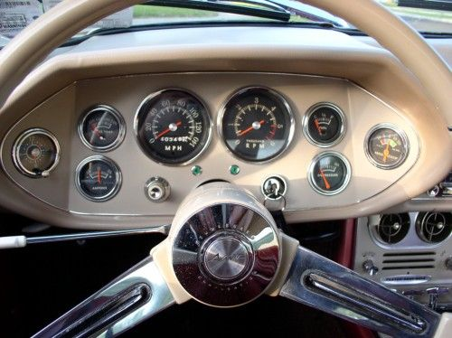 Instrument panel steering wheel, Studebaker 1963 Avanti